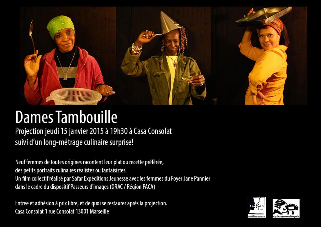 AfficheDameTambouille